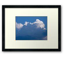Cloud Volume Framed Print