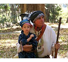 The Re-enactors Photographic Print