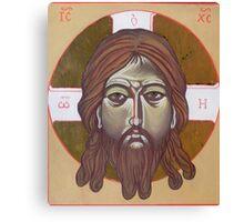 Icona del volto di Cristo Canvas Print