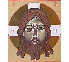 Icona del volto di Cristo Photographic Print