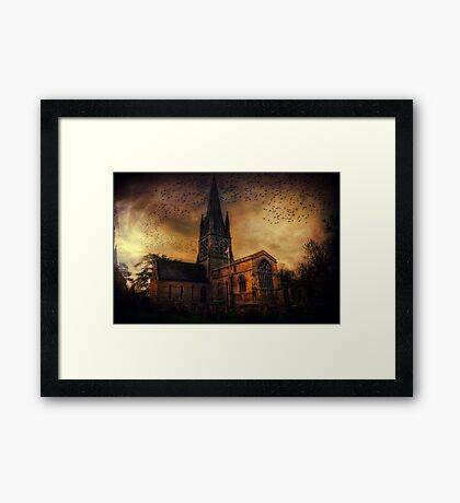 Church In Witney Framed Print
