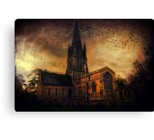 Church In Witney Canvas Print