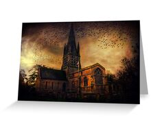 Church In Witney Greeting Card