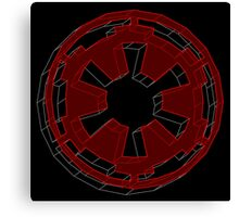 Star Wars Imperial Crest - 2 Canvas Print