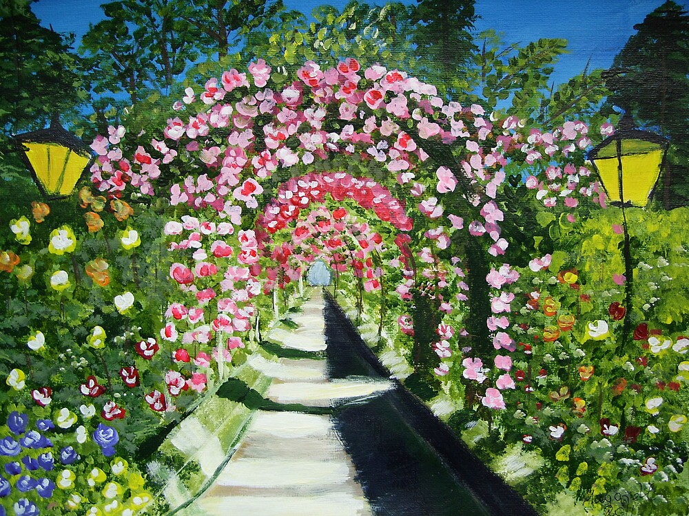 Flower Arches by maggie326