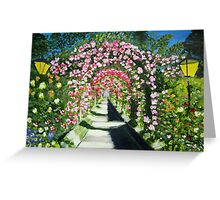 Flower Arches Greeting Card