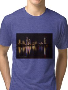 Reflections of the Gold Coast Tri-blend T-Shirt