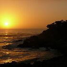 #220  Sunset On Pebble Beach by MyInnereyeMike
