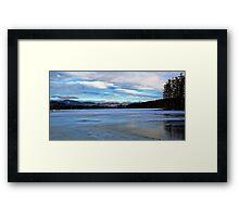 Kezar Lake (Upper Bay) - Morning Light Framed Print