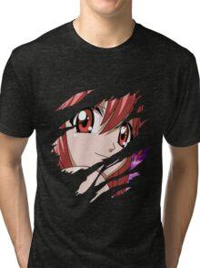 elfen lied lucy nyu anime manga shirt Tri-blend T-Shirt