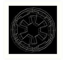 Star Wars Imperial Crest - 3 Art Print