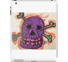 Da Purple Skull!!! iPad Case/Skin