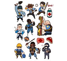 Team Fortress 2 / SD All Class Photographic Print