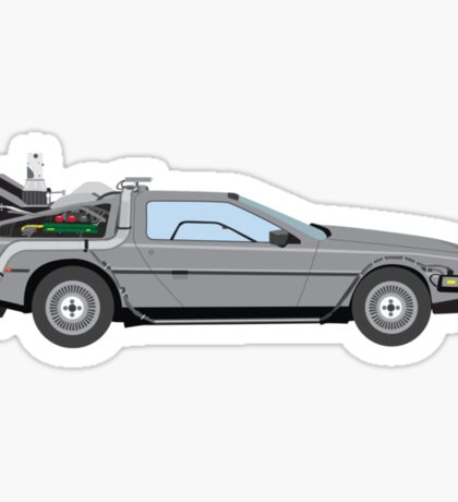 Back to the Future Sticker