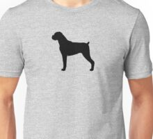 Boxer Dog Silhouette(s) Unisex T-Shirt