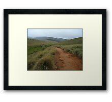 Horton Plains National Park Framed Print