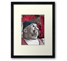 Tough Guy Framed Print