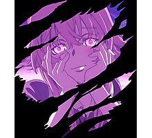 future diary mirai nikki yuno gasai anime manga shirt Photographic Print