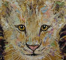 Lion Cub by Michael Creese