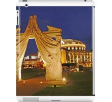 Evening at the Hungarian National Theatre iPad Case/Skin