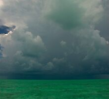 Approaching Storm, Long Island, Bahamas by Shane Pinder