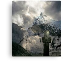 The Marking of History. Canvas Print