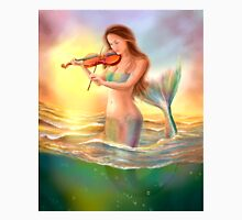Beautiful  fantasy mermaid plays on violin on sunset Unisex T-Shirt