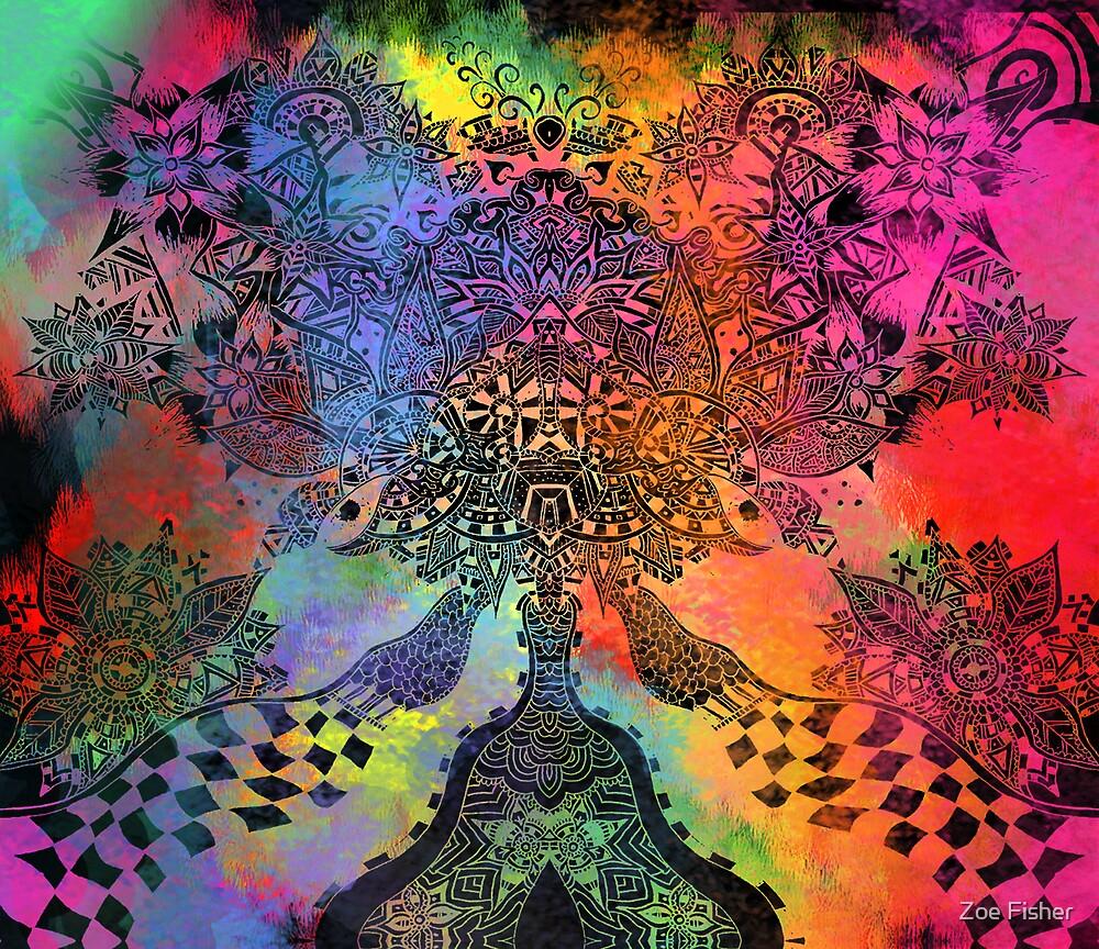 Headmess Explosion by Zoe Gwendoline
