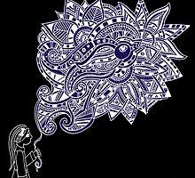 Talitha's kite  by Zoe Gwendoline