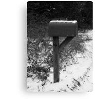 Waitin' on the Mail. . . Canvas Print