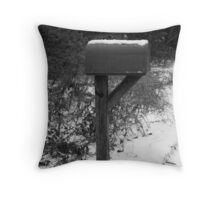 Waitin' on the Mail. . . Throw Pillow