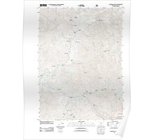 USGS Topo Map Oregon Sterling Creek 20110715 TM Poster