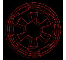 Star Wars Imperial Crest - 4 Photographic Print