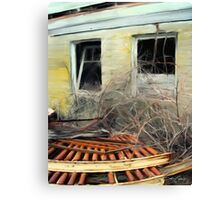 Slaughter House Canvas Print