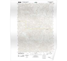 USGS Topo Map Oregon Beaver Creek 20110824 TM Poster