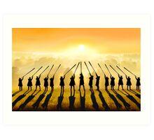 Anthem of the Sun Art Print