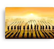 Anthem of the Sun Canvas Print