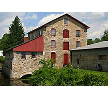 The Old Stone Mill Photographic Print