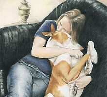 """Katie and Java"" by Charlotte Yealey"
