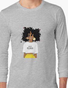 LEGALIZE MELANIN M (ABA) Long Sleeve T-Shirt