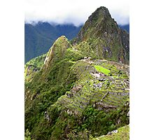 Lost City of the Incas Photographic Print