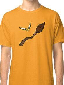 Quidditch Pattern (Hufflepuff) Classic T-Shirt