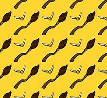 Quidditch Pattern (Hufflepuff) by sarrah