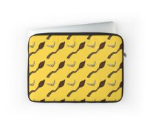 Quidditch Pattern (Hufflepuff) Laptop Sleeve