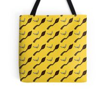 Quidditch Pattern (Hufflepuff) Tote Bag