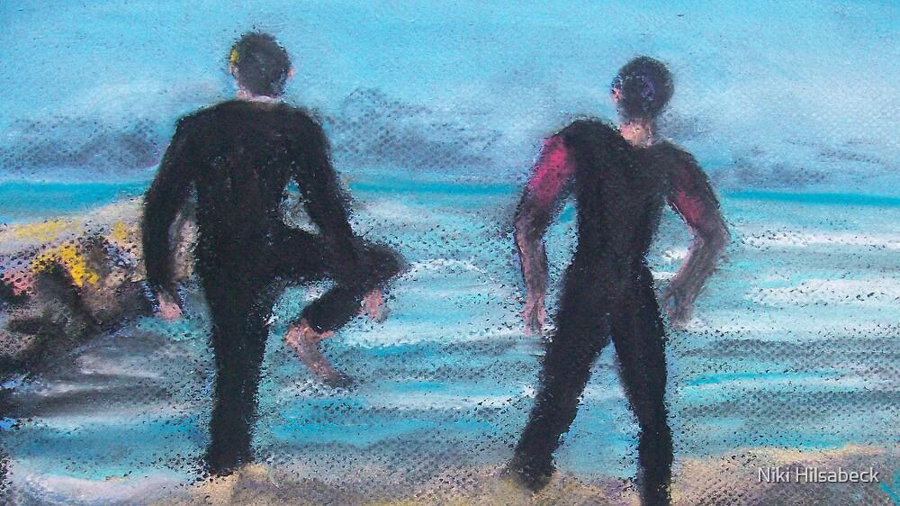 Morning Stretch (Pastel) by Niki Hilsabeck