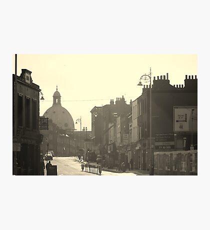 Hazy Dublin Photographic Print