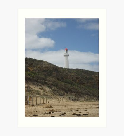 Airey's Inlet Light house Art Print