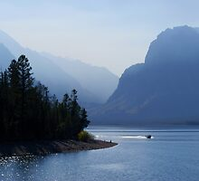 Grand Tetons Colter Bay by Melva Vivian