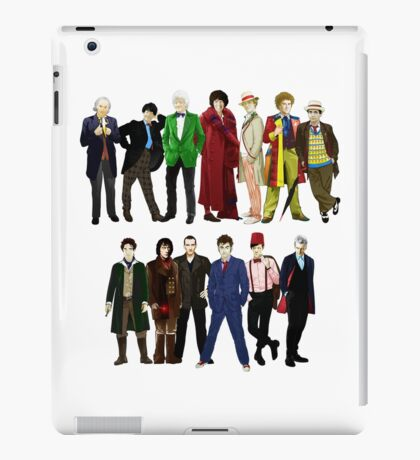 Doctor Who - The 13 Doctors iPad Case/Skin